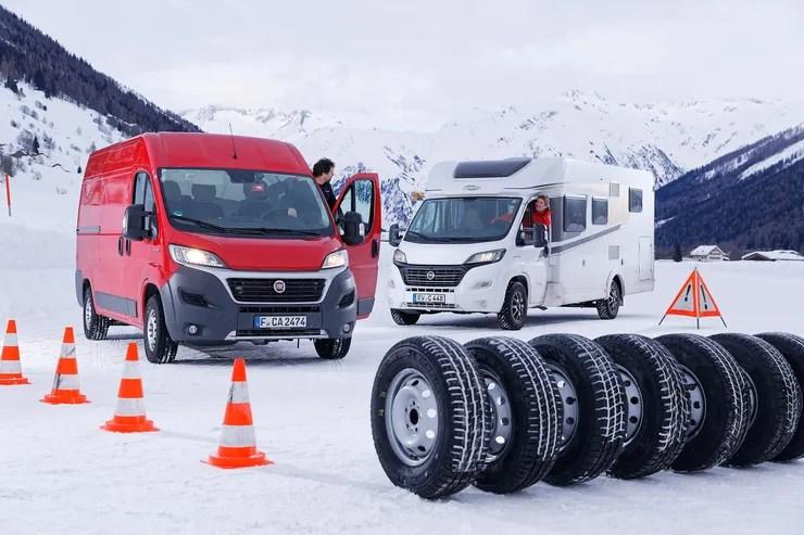 Wohnmobil Winterreifen Test 2018