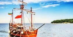 Морско приключение край Варненския залив! Пиратски круиз с кораб Pinta Varna или Арабела - на 28 Юли, 31 Юли или 1 Август