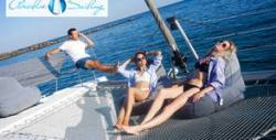Морско забавление край Стария Несебър! 2 часа разходка с луксозен катамаран Paradise Sailing, плюс напитка по избор