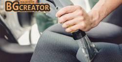 За чист автомобил! Пране на тапицерия или почистване на кожен салон - до 5 седящи места, плюс бонус - озонова процедура