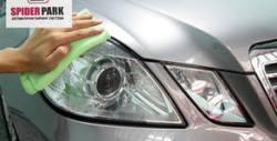 Грижа за фарове на автомобила - полиране и почистване до блясък