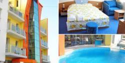 Лятна почивка в Равда! Нощувка с възможност за закуска и вечеря, плюс басейн и паркинг,