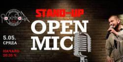 """Stand-up комедийната вечер """"Open mic"""" на 5 Май от 20:30ч, плюс коктейл Блъди Мери"""