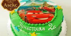 Торта с фотодекорация по избор - с 12, 16 или 20 парчета