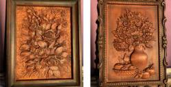 Дърворезбовано пано с основа от липа, дизайн по избор и възможност за персонализация