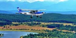 Панорамен полет с малък самолет над язовир Искър и Панчаревското езеро - за един, двама или трима