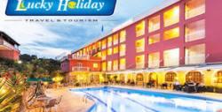 Почивка на остров Корфу през Септември! 7 нощувки със закуски и вечери в Хотел Oasis***, плюс транспорт