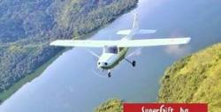 Полет с четириместен самолет за до трима - опитен урок в дестинация по избор