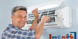 Диагностика на климатик или климатична система на адрес на клиента, плюс бонус - дезинфекция