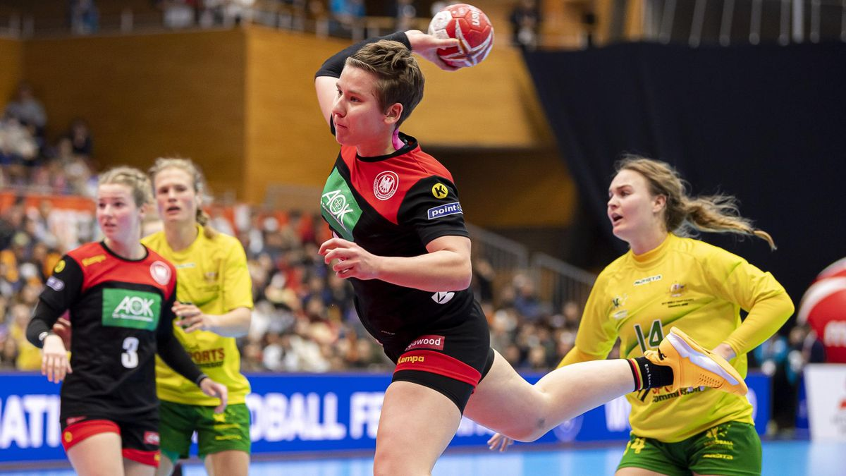 handballerinnen holen klaren sieg
