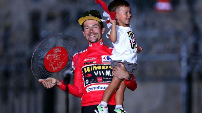 Primoz Roglic (Jumbo-Visma), vainqueur de la Vuelta 2021