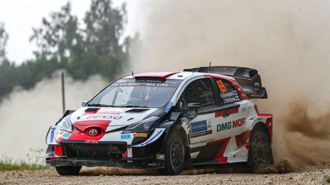 Kalle Rovanperä (Toyota) / Rallye d'Estonie 2021