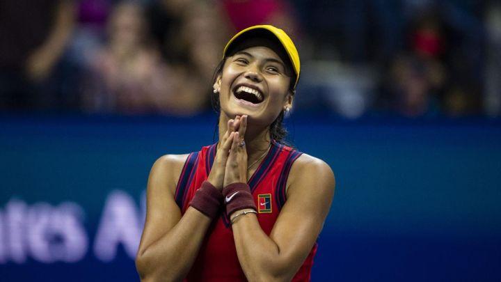 US Open 2021 - Inspired Emma Raducanu storms past Maria Sakkari to set up  magical final with Leylah Fernandez - Eurosport