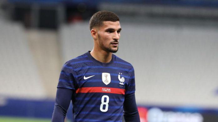 Houssem Aouar a fait ses débuts avec l'équipe de France face à l'Ukraine