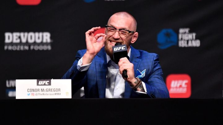 Conor McGregor named the easiest opponent in his career