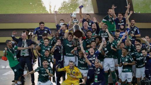 Substitute Breno Lopes scores 99th minute winner as Palmeiras win first  Libertadores since 1999 - Eurosport