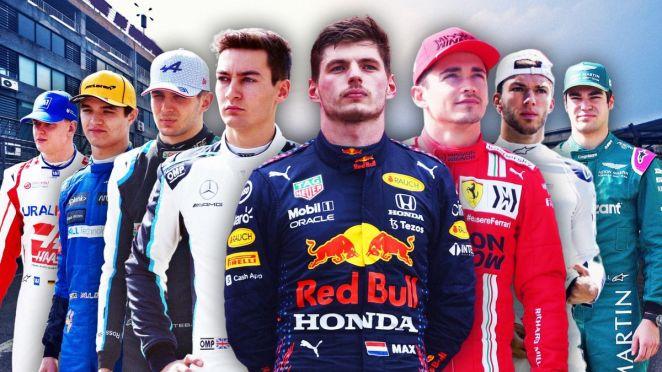 Verstappen, Leclerc, Gasly, Ocon, Russell, Norris, Schumacher, Stroll : huit pilotes d'une génération dorée