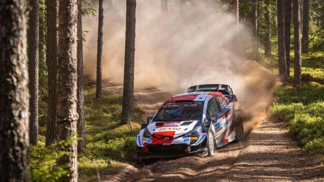 Kalle Rovanperä (Toyota) au Rallye d'Estonie 2021