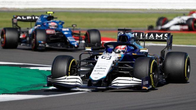 George Russell (Williams) au Grand Prix de Grande Bretagne 2021