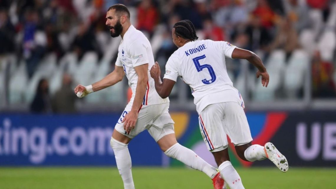 En directo: Bélgica-Francia   Semifinales Nations League - Eurosport