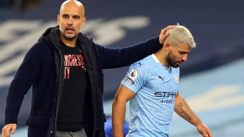 Sergio Aguero: Pep Guardiola says Man City striker must show he deserves new contract - Eurosport