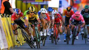 Tour de Polonia (1ª etapa): Groenewegen es descalificado por su maniobra con Jakobsen