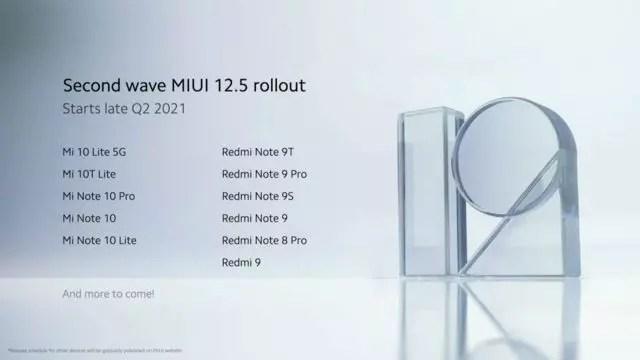 MIUI 12.5 güncellemesi alacak akıllı telefonlar-2