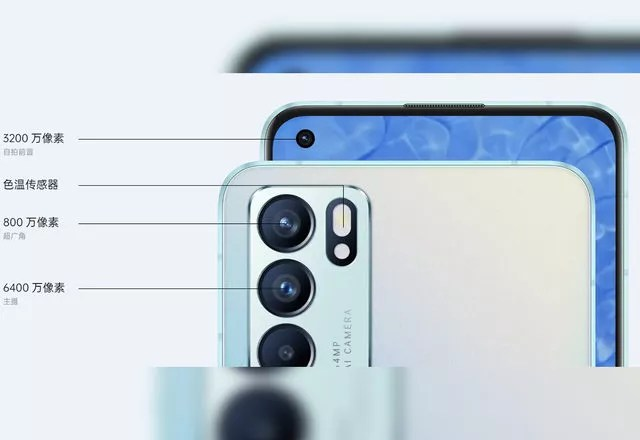 Oppo Reno6 kamera