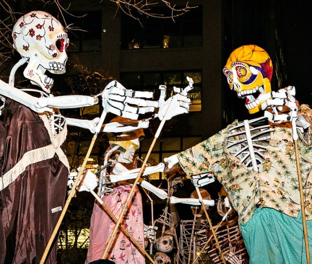 A History Of The Village Halloween Parade Puppets Performers And Nyc Pride
