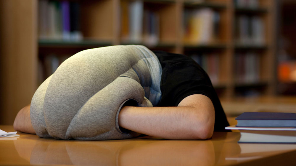 the ostrich pillow mini arms you with