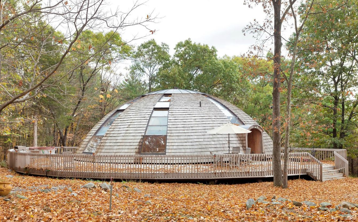 Best Kitchen Gallery: For Under 1m You Can Buy A Dome Home In New Paltz That Rotates 360 of Eco Friendly Dome Home on rachelxblog.com