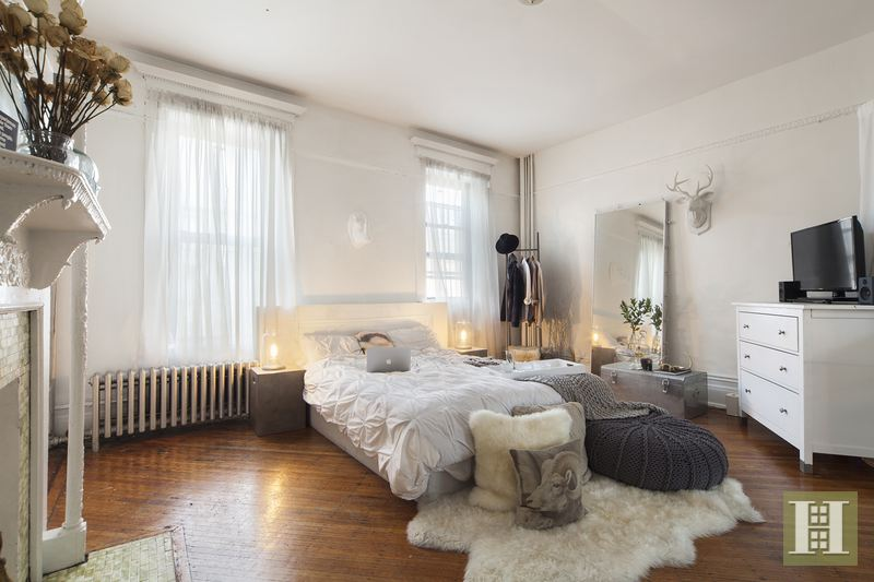 2M Historic Bed Stuy Brownstone Comes With an Ethereal Interior   6sqft 231 Decatur  bedroom  bed stuy brownstone  historic brownstone  rental