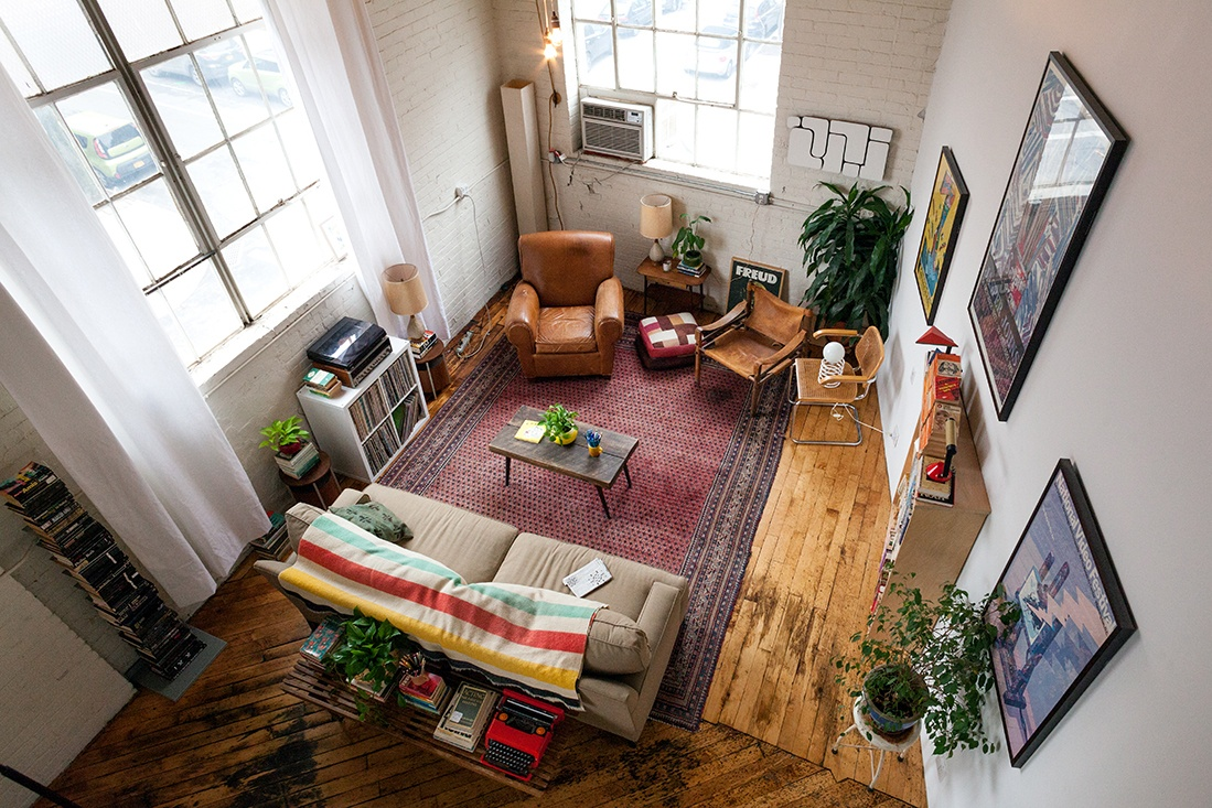 My 1400sqft Inside Creative Couple Molly Young And Teddy