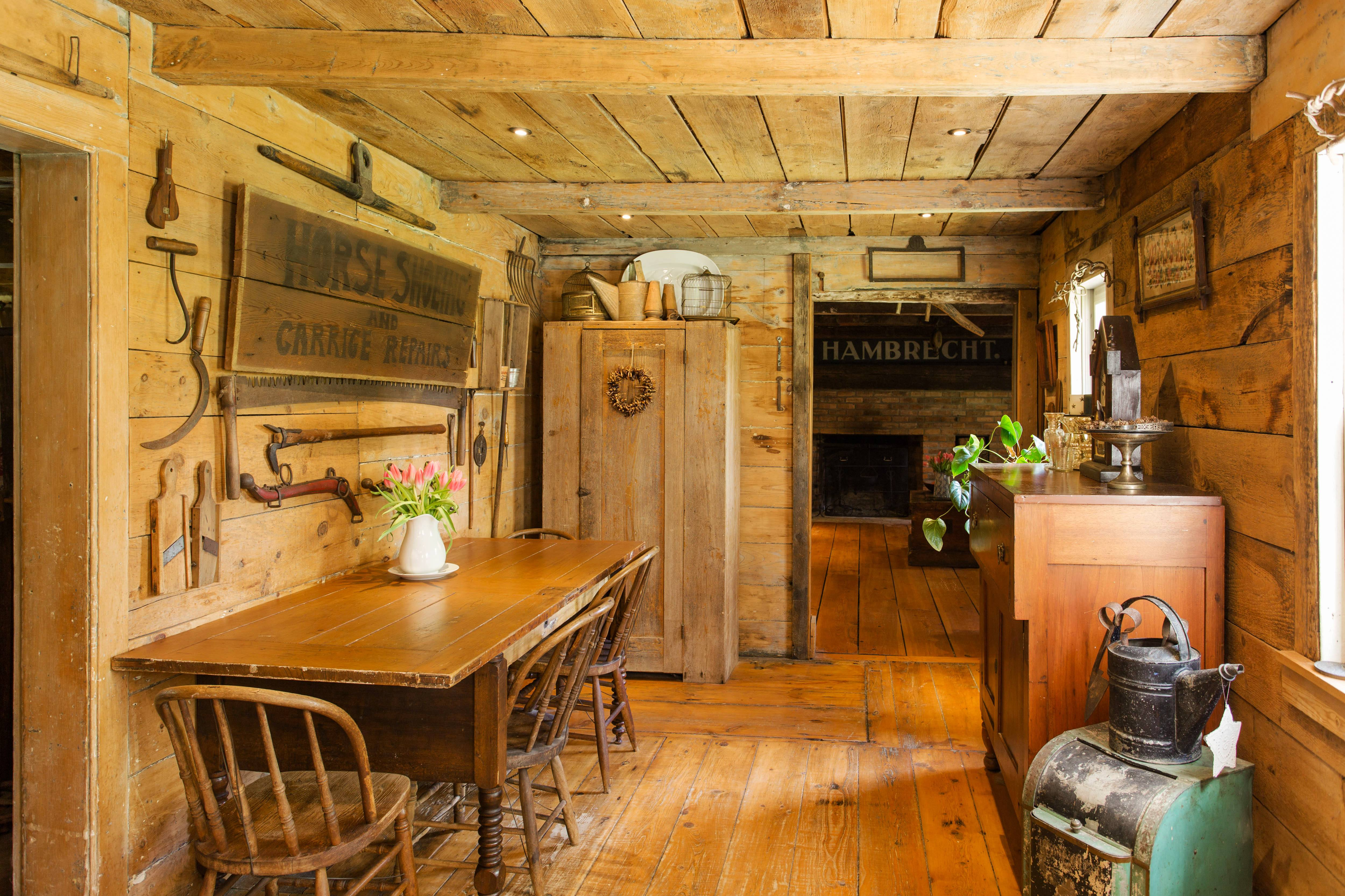 18th Century Farmhouse Filled With Wood And Antiques Asks