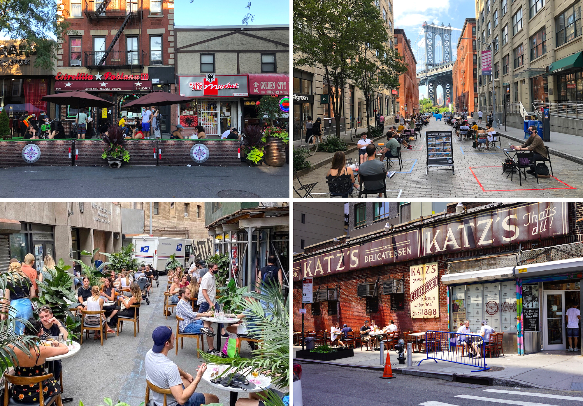 10 Iconic Streets And Spots In Nyc Open For Outdoor Dining 6sqft