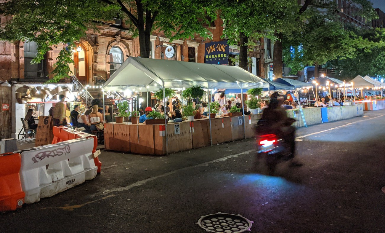 NYC Indoor Dining is getting a boost from the success of the city's outdoor plan.