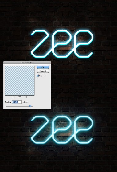 Easy Neon Style in Photoshop
