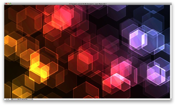 Hexagon Bokeh Effect in Photoshop