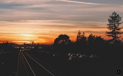 Sunset in East Bay - Wallpaper of the Week