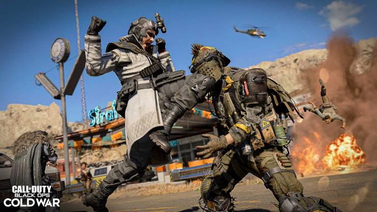 temporada 3 de Call of Duty Warzone y black ops Cold War mapa diesel