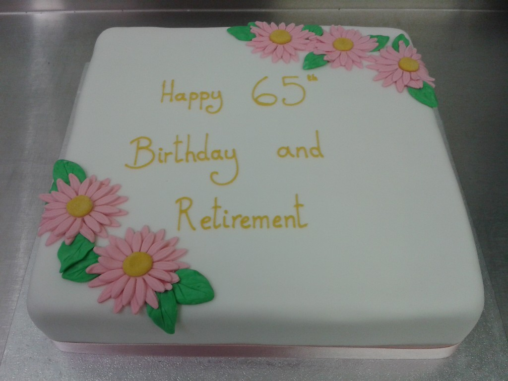 Simple Retirement Cake Cake Ideas And Designs