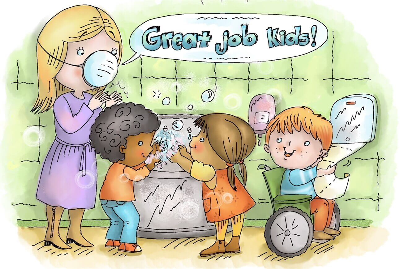 Stop Germs In The Classroom With 7 Free Bulletin Board