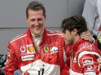 Schumacher i Massa
