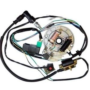 ALL ELECTRICS 50110 125CC 140 WIRE HARNESS CDI COIL