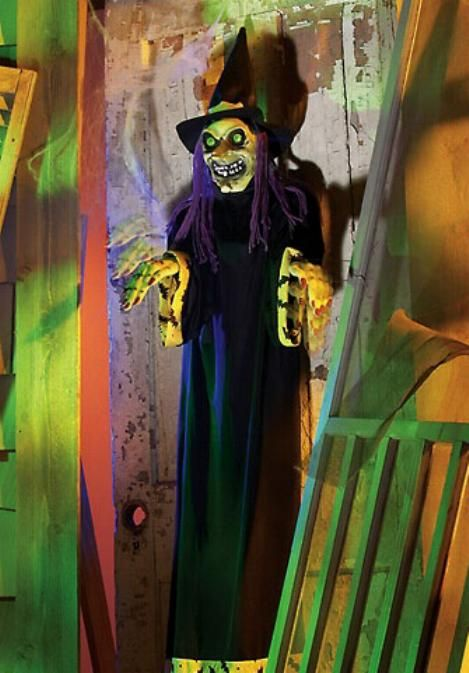 Witch Animated Greeter Treater
