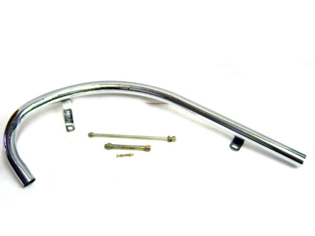 Royal Enfield Bullet Head Exhaust Pipe For Short Silencer