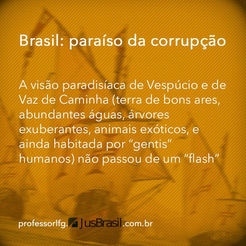 Brasil paraso da corrupo e da cleptocracia