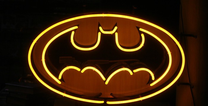 No fiz concurso para Batman