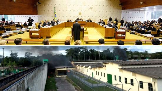 Famlias de vtimas do massacre de Manaus tm direito a indenizao entende STF