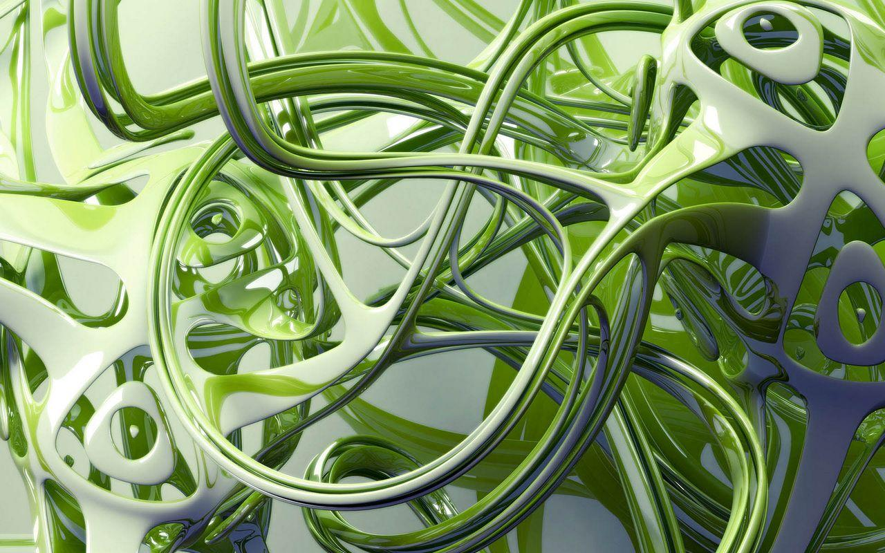 green 3d abstract wallpaper wallpapers - hd wallpapers 77978
